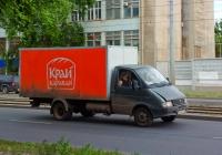 Фургон для перевозки продовольственных продуктов на шасси ГАЗ-330200 #А086НА163. г. Самара, Заводское шоссе