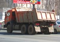 Самосвал КамАЗ-65115 #О829АМ163. г. Самара, ул. Мичурина