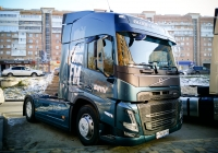 Седельный тягач Volvo FM380 #Р760ЕУ40. г. Самара, пр. Ленина