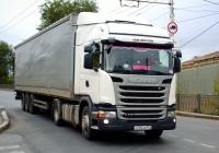Седельный тягач Scania G440  #А202АМ763. г. Самара, ул. Главная