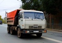 Самосвал КамАЗ-65115  #О006ЕУ163. г. Самара, ул. Главная