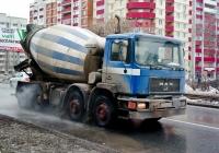 Бетоносмеситель на шасси MAN F90 #Р501КН163. г. Самара, ул. Киевская