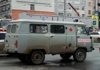 Автомобиль медслужбы УАЗ-3962 #Т643ТУ163. г. Самара, ул. Ново-Садовая