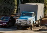 Фургон на шасси ЗиЛ-130* (шасси) #С041КА163. г. Самара, Волжский пр.