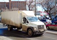 "Фургон на шасси ГАЗ-C41R* ""ГАЗон Next"" #К489АМ53. г. Самара, ул. Тухачевского"