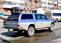 Пикап повышенной проходимости Mitsubishi L200  #Е643КР63. г. Самара, ул. Тухачевского