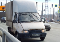 """Бортовой грузовой автомобиль ГАЗ-3302 """"Газель"""" #М389НВ163. г. Самара, Московское шоссе"""
