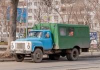 Вахтовый автобус ТС-3966 на шасси ГАЗ-53-12 #У902УХ63 . г. Самара, ул. Клиническая