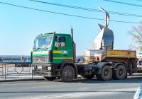 Седельный тягач МАЗ-6422 #О666МТ163. г. Самара, ул. М. Горького
