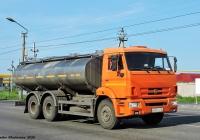 Молоковоз АЦПТ-13 (56274-21) на шасси КамАЗ-65115 #Р692КА45. г. Курган, ул. Омская