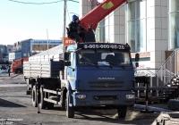 Самопогрузчик бортовой СПМ-732457 на шасси КамАЗ-65117 #Т113МЕ45. Курган, улица Климова