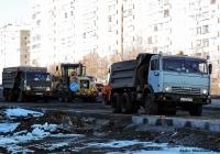 Самосвал КамАЗ-55111 [551110] #Х133ВЕ45. г. Курган, ул. Терентия Мальцева