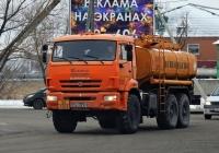 Топливозаправщик КамАЗ-43118 #6750УА12. г. Курган, ул. Омская