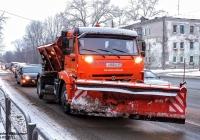 Комбинированная дорожная машина МД-43253 на шасси КамАЗ-43253 #Х883МО45. г. Курган, ул. Дзержинского