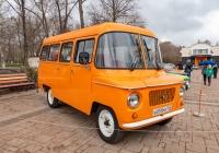 Микроавтобус FSD Nysa 522M #В055МВ763. г. Самара, пр. Гагарина, парк Дружбы, открытие Ретро-Сезона 2021
