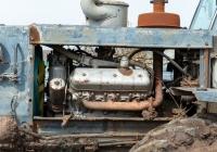 Трактор Т-150К, дизель ЯМЗ-236. Самарская область, Ставропольский р-н, с. Осиновка