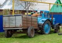 Трактор МТЗ-80* #9669ОТ63. Самарская область, Ставропольский р-н, с. Осиновка, ул. Лазарева