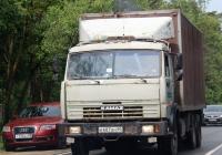 Фургон на шасси КамАЗ-53202 №В 687 ВН 60. Псков, улица Советской Армии