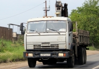 Бортовой грузовой автомобиль с кран-манипулятором КамАЗ-53212 #С901АМ60. г. Псков, ул. Советской Армии