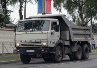 Самосвал КамАЗ-55111 #Р097АВ60. г. Псков, ул. Юбилейная