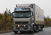 Седельный тягач Volvo FH 440 #М 239 НР 33. Мурманская обл., трасса Р-21 Кола