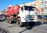 Илососная машина на шасси КамАЗ-43114 #Х892ОС163. г. Самара, пр. Ленина