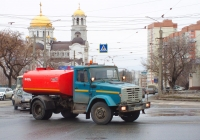 Коммунальный автомобиль КО-829АД на шасси ЗиЛ-4333* #С295МТ163. г. Самара, ул. Тухачевского
