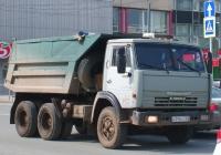 Самосвал на шасси КамАЗ-65111 #О395НХ163. г. Самара, ул. Мичурина