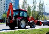 Экскаватор-погрузчик СМТ-3 на базе трактора СМТ-80. г. Самара, Московское шоссе