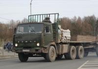 КамАЗ-5320 #Е 376 ВН 60. г. Псков, Юбилейная ул.