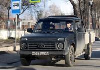 Пикап ВИС-2346 #М 053 ЕХ 60. г. Псков, ул. Советской Армии