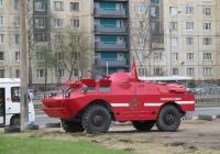 Бронемашина БРДМ-2. г. Санкт-Петербург, Ириновский пр.