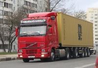 Седельный тягач Volvo FH 12.380 #О168ВК60. г. Псков, Рижский пр.