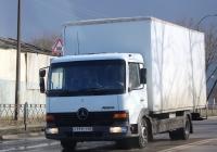 Фургон Kogel на шасси Mercedes-Benz Atego 815 #У111СТ69. г. Псков, ул. Советской Армии
