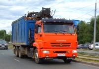 Ломовоз на шасси КамАЗ-55102 #В955ММ763. г. Самара, Заводское шоссе