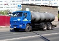 Цистерна на шасси КамАЗ-65115 #Х958КР163. г. Самара, Волжское шоссе