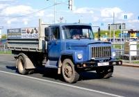 Бортовой грузовой автомобиль ГАЗ-3307 #Х795ОУ163. г. Самара, Московское шоссе, 18 км