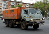 Автомобиль техпомощи на базе КамАЗ-4310 #Т593СР63. г. Самара, ул. Авроры