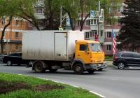 Фургон на шасси КамАЗ-4308 #Н512КМ63. г. Самара, ул. Гагарина