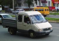 """Бортовой грузовой автомобиль на шасси ГАЗ-33023 """"Газель"""" #С461УР163. г. Самара, ул. Гагарина"""