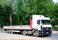 Седельный тягач МАЗ-5440 #Р806КЕ72. г. Самара, ул. Белорусская