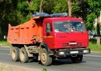 Самосвал КамАЗ-65115  #В971ОВ163. г. Самара, Зубчаниновское шоссе