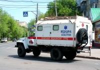 """Санитарная машина на базе ГАЗ-3308 """"Садко"""" #Е106СА163. Самара, улица Дзержинского"""
