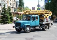 Автоподъемник АП-17М на шасси ГАЗ-3307 #Т519НО163. г. Самара, ул. Молодогвардейская