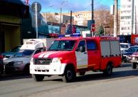 Автомобиль первой помощи АПП-0.3-0.5 на базе УАЗ-236324 #В486СХ763. г. Самара, пр. Кирова