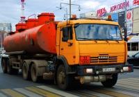 Седельный тягач КамАЗ-65115 #Р874КМ163. г. Самара, Московское шоссе