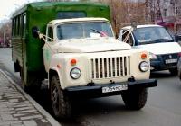 вахтовый автобус ТС-3966 на шасси ГАЗ-53-12 #У754МС63. г. Самара, ул. Полевая