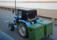 Трактор МТЗ-82.1 Беларус-82.1 (МТЗ-82.1) #7032СЕ63. г. Самара, Первомайский спуск (набережная)