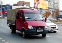 """Бортовой грузовой автомобиль ГАЗ-33023 """"Газель"""" #Т480НЕ59. г. Самара, Московское шоссе"""