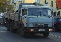 Бортовой грузовой автомобиль КамАЗ-5320 #Р822МВ163. г. Самара, ул. Полевая